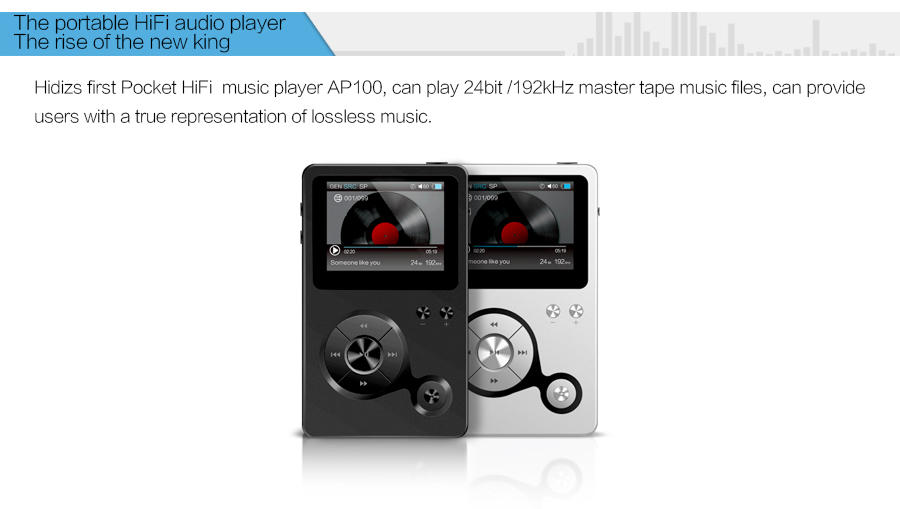 Hidizs AP100 HiFi Player